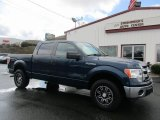 2014 Blue Flame Ford F150 XLT SuperCrew #126005012