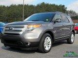 2014 Sterling Gray Ford Explorer XLT 4WD #126004795