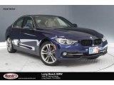2018 Mediterranean Blue Metallic BMW 3 Series 330i Sedan #126004982