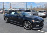 2017 Shadow Black Ford Mustang EcoBoost Premium Convertible #126028840