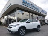 2018 White Diamond Pearl Honda CR-V EX AWD #126028897