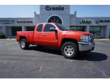 2013 Victory Red Chevrolet Silverado 1500 LT Extended Cab #126028942