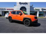 2017 Omaha Orange Jeep Renegade Latitude #126028931
