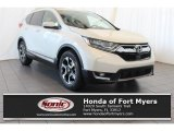 2018 White Diamond Pearl Honda CR-V Touring #126028765