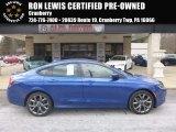 2015 Ceramic Blue Chrysler 200 S #126028799