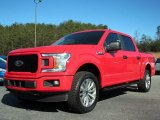 2018 Race Red Ford F150 STX SuperCrew 4x4 #126028669