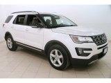 2016 White Platinum Metallic Tri-Coat Ford Explorer XLT 4WD #126029079