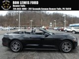 2017 Shadow Black Ford Mustang EcoBoost Premium Convertible #126058841
