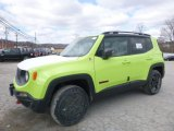 2018 Hypergreen Jeep Renegade Trailhawk 4x4 #126058928