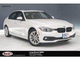 2018 Mineral White Metallic BMW 3 Series 320i Sedan #126083128