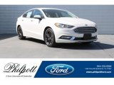 2018 White Platinum Ford Fusion SE #126083110