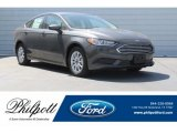 2018 Magnetic Ford Fusion S #126117250