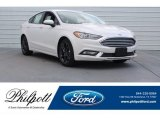 2018 White Platinum Ford Fusion SE #126117249