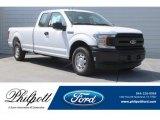 2018 Oxford White Ford F150 XL SuperCab #126117244