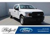 2018 Oxford White Ford F150 XL SuperCab #126117242