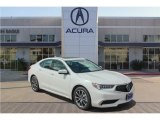 2018 Bellanova White Pearl Acura TLX V6 Technology Sedan #126140396