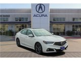 2018 Bellanova White Pearl Acura TLX V6 A-Spec Sedan #126140403