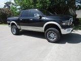 2009 Brilliant Black Crystal Pearl Dodge Ram 1500 Laramie Crew Cab 4x4 #126166462