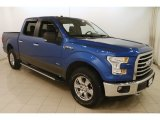2015 Blue Flame Metallic Ford F150 XLT SuperCrew 4x4 #126166418