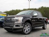 2018 Magma Red Ford F150 Lariat SuperCrew 4x4 #126216320