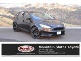 2015 Tuxedo Black Metallic Ford Focus SE Hatchback #126216343