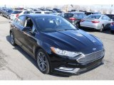 2017 Shadow Black Ford Fusion Hybrid SE #126230731