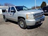 2011 Sheer Silver Metallic Chevrolet Silverado 1500 LS Extended Cab #126231570