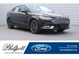 2018 Shadow Black Ford Fusion SE #126231686
