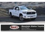 2018 Super White Toyota Tundra SR5 Double Cab 4x4 #126247748