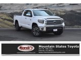 2018 Super White Toyota Tundra SR5 Double Cab 4x4 #126247747