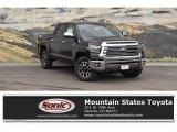 2018 Midnight Black Metallic Toyota Tundra 1794 Edition CrewMax 4x4 #126247740