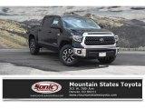 2018 Midnight Black Metallic Toyota Tundra SR5 CrewMax 4x4 #126247739