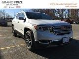 2018 White Frost Tricoat GMC Acadia SLT AWD #126247677