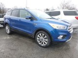2017 Lightning Blue Ford Escape Titanium 4WD #126248049