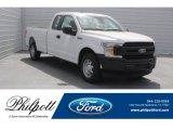 2018 Oxford White Ford F150 XL SuperCab #126247924
