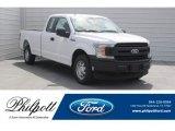 2018 Oxford White Ford F150 XL SuperCab #126247923