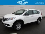2015 White Diamond Pearl Honda CR-V LX AWD #126247706