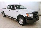 2014 Oxford White Ford F150 XL SuperCab #126277136