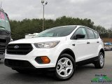 2018 Oxford White Ford Escape S #126304932