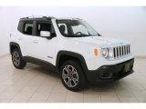 2016 Alpine White Jeep Renegade Limited 4x4 #126330102