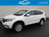 2015 White Diamond Pearl Honda CR-V EX #126329798