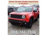 2018 Omaha Orange Jeep Renegade Trailhawk 4x4 #126330089