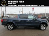 2018 Blue Jeans Ford F150 Platinum SuperCrew 4x4 #126329935