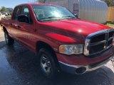 2005 Flame Red Dodge Ram 1500 ST Quad Cab 4x4 #126353224