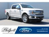 2018 White Platinum Ford F150 Lariat SuperCrew #126353351