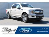 2018 White Platinum Ford F150 Lariat SuperCrew #126353341