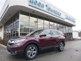 2018 Gunmetal Metallic Honda CR-V EX AWD #126382220