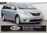 2011 Silver Sky Metallic Toyota Sienna XLE #126382174