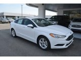 2018 Oxford White Ford Fusion SE #126382163