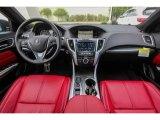 2018 Acura TLX V6 SH-AWD A-Spec Sedan Red Interior